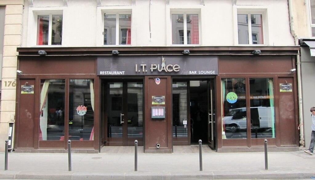 Enseigne restaurant led et inox miroir it place paris montmartre 75001 - Enseigne de bar lumineuse ...