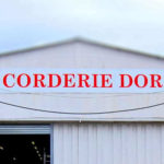 Corderie Dor Mitry-Mory - Enseigne rouge sur fond blanc