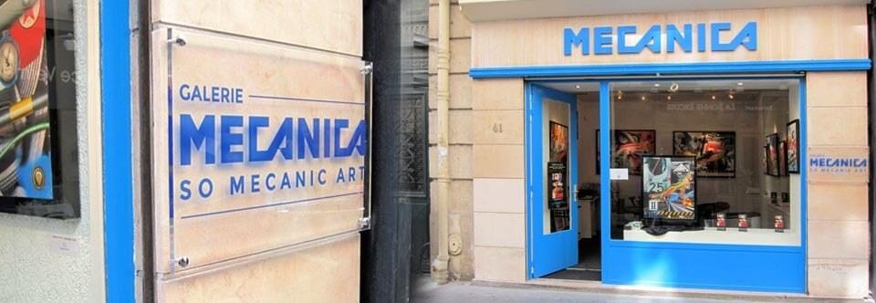 Enseigne galerie d'Art Paris – MECANICA