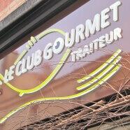 Enseigne traiteur – Le Club Gourmet au Vésinet