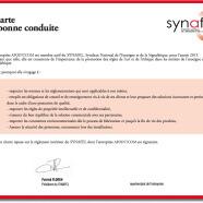 Synafel : charte de bonne conduite