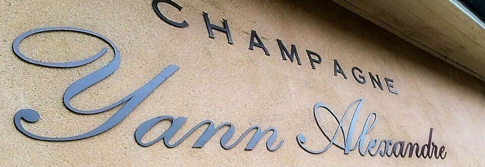 Enseigne Champagne Yann Alexandre – (Courmas – 51)