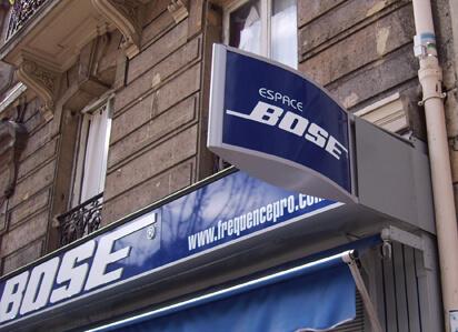 Enseignes de magasin Bose Paris (75011)