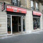 Enseigne Moto Avenue Paris