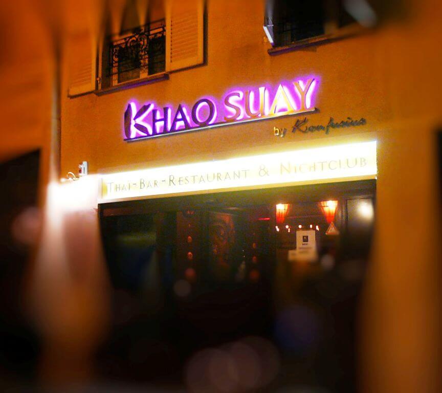 Enseigne restaurant Khao Suay Paris Bastille