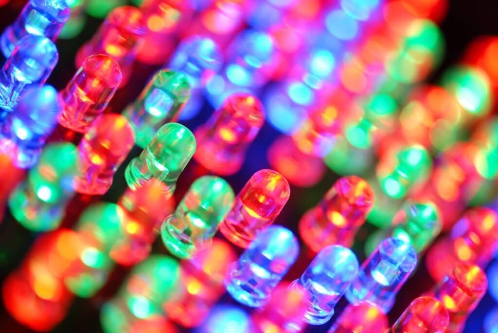 Enseigne lumineuse led, rétro éclairage led