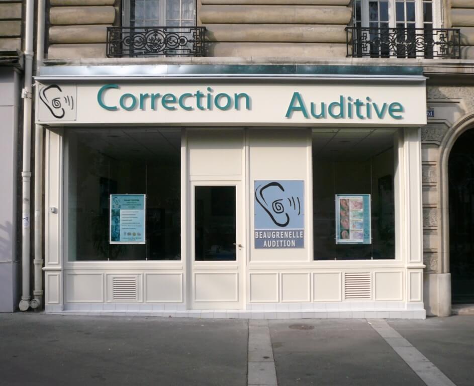 Enseigne publicitaire Paris 12 – Audition Picpus
