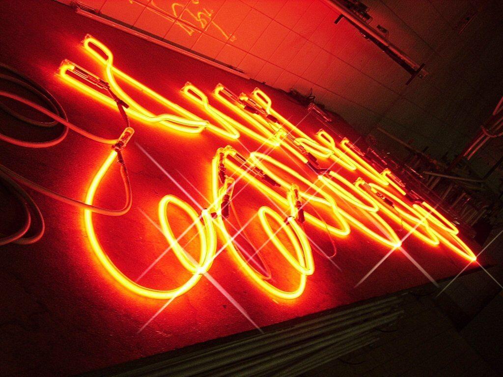 Enseigne en néon – neon rouge