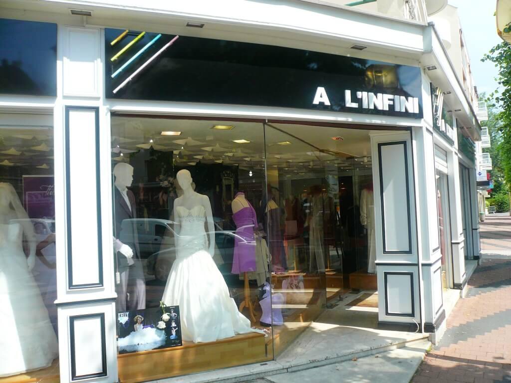 enseigne neon mariage (magasin de mariage)