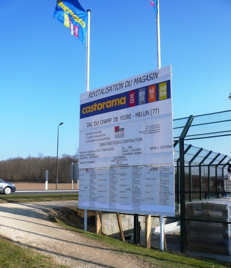 Panneau de chantier castorama villab 91100 - Panneau de coffrage castorama ...