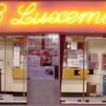 Enseigne neon cinéma Les 3 Luxembourg