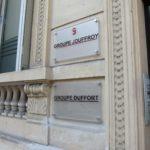 Investissement Paris Groupe Duffort - Plaque Plexi