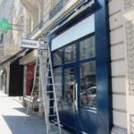 Chaussures SEBAGO Paris 17Enseigne (installation)