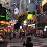 Enseignes a Time Square