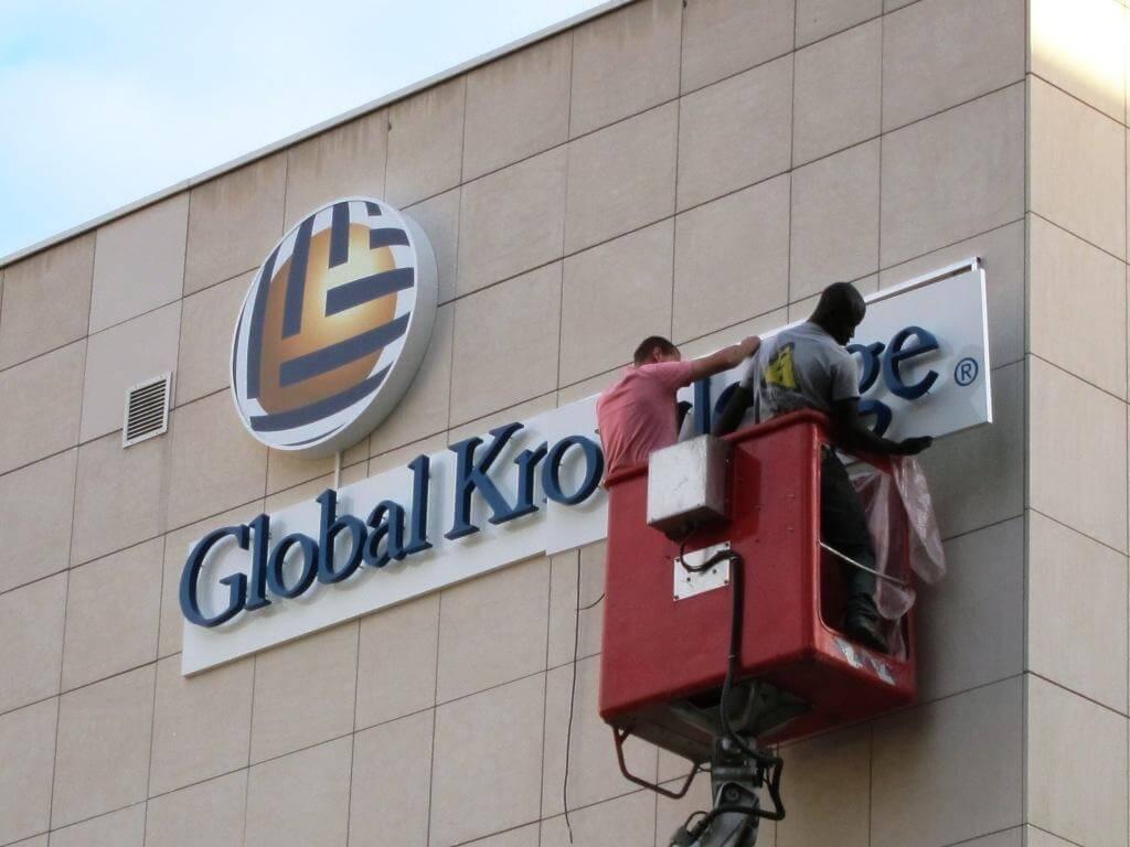 Enseigne Rueil Malmaison Global Knowledge