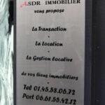 Agence immobiliere Paris 15 - ASDR