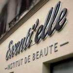 Institut de beauté Essenti'elle - Détail de l'enseigne