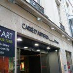 Galerie Carré d'Artistes - Enseigne et vitrine