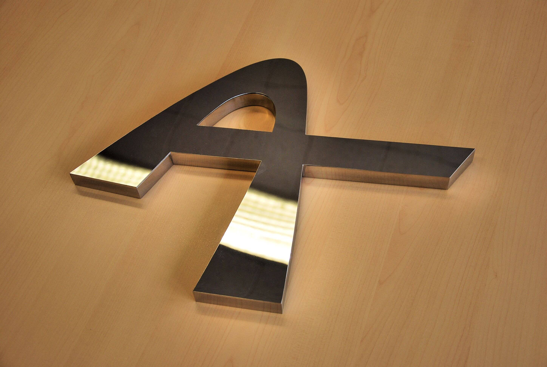 Construir-Acier - Logo inox poli