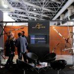 Salon BATILUX 2012 à Monaco - Enseigne du stand Construir Acier