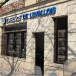 Agence Levallois - Enseigne et vitrine
