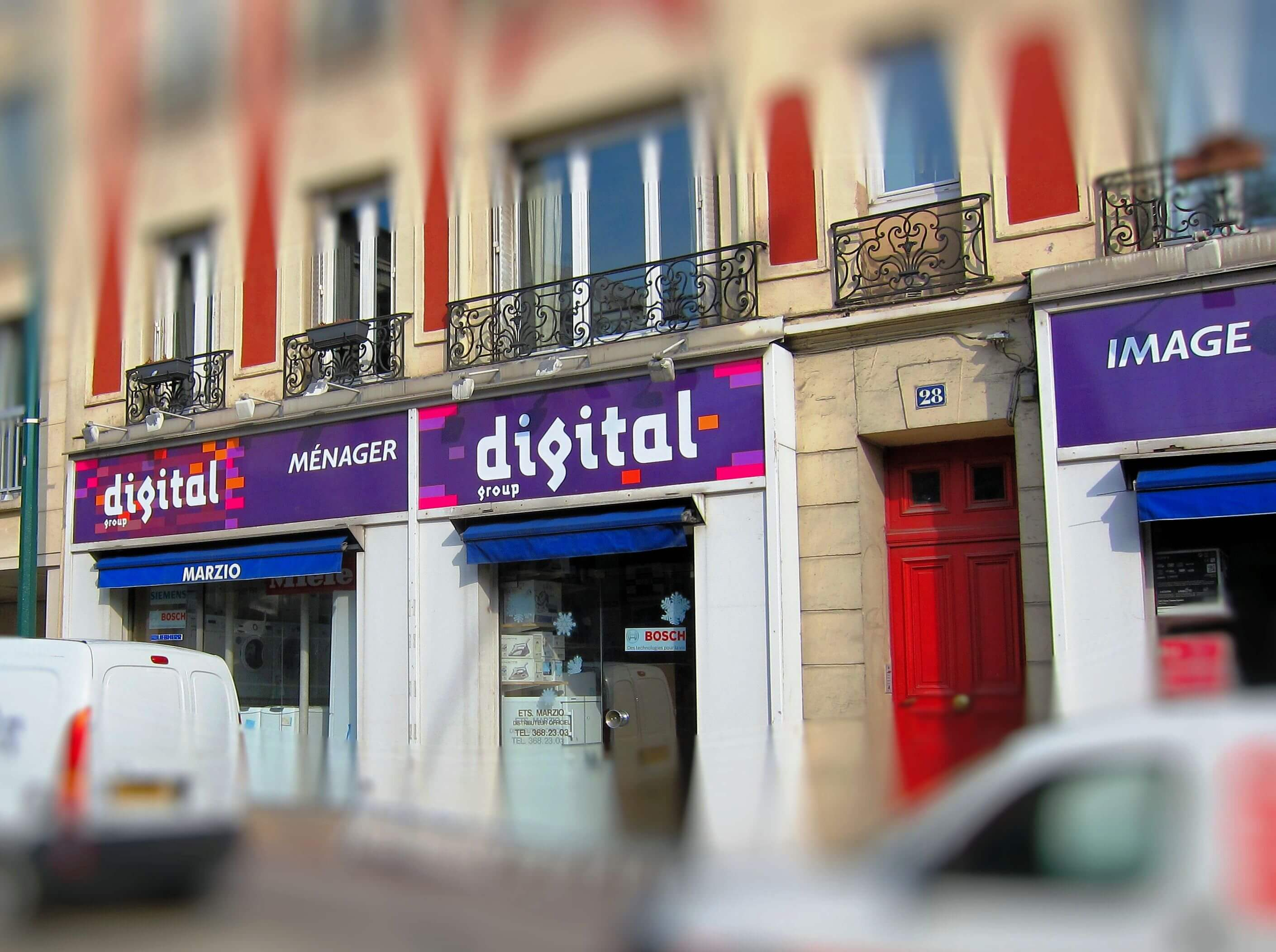 Enseigne magasin Digital à Saint-Maurice (94)
