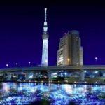 La riviere Sumida de Tokyo avec ses 100000 lucioles à led