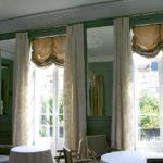Portes-fenetres de la salle à manger du Restaurant Dubern de Bordeaux