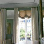 Portes-fenetres et miroirde la salle à manger du Restaurant Dubern de Bordeaux