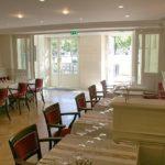 Salle-a-manger-et-terrasse du Restaurant Dubern de Bordeaux