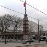Vue de la Place (Métro et tramway) - Palais des Sports de Paris Porte-de-Versailles