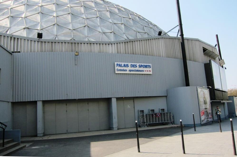 Enseigne lumineuse inox palais des sports de paris 75015 - Palais des sports porte de versailles ...