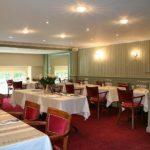 Vue en perpective de la Salle a manger du Restaurant Dubern de Bordeaux