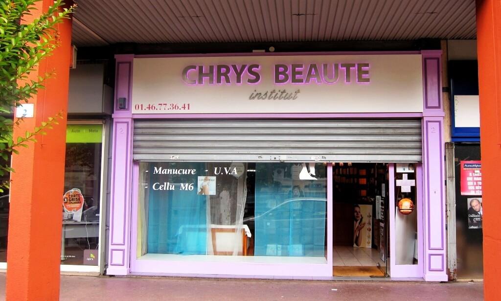 Enseigne institut beauté Villejuif – Chrys-Beauté