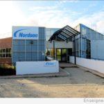 Enseignes vues de la route - Nouvelle signalétique de l'entreprise Nordson France 77