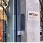 Plaque professionnelle en alu brossé - Ponticelli Frères (Siège)