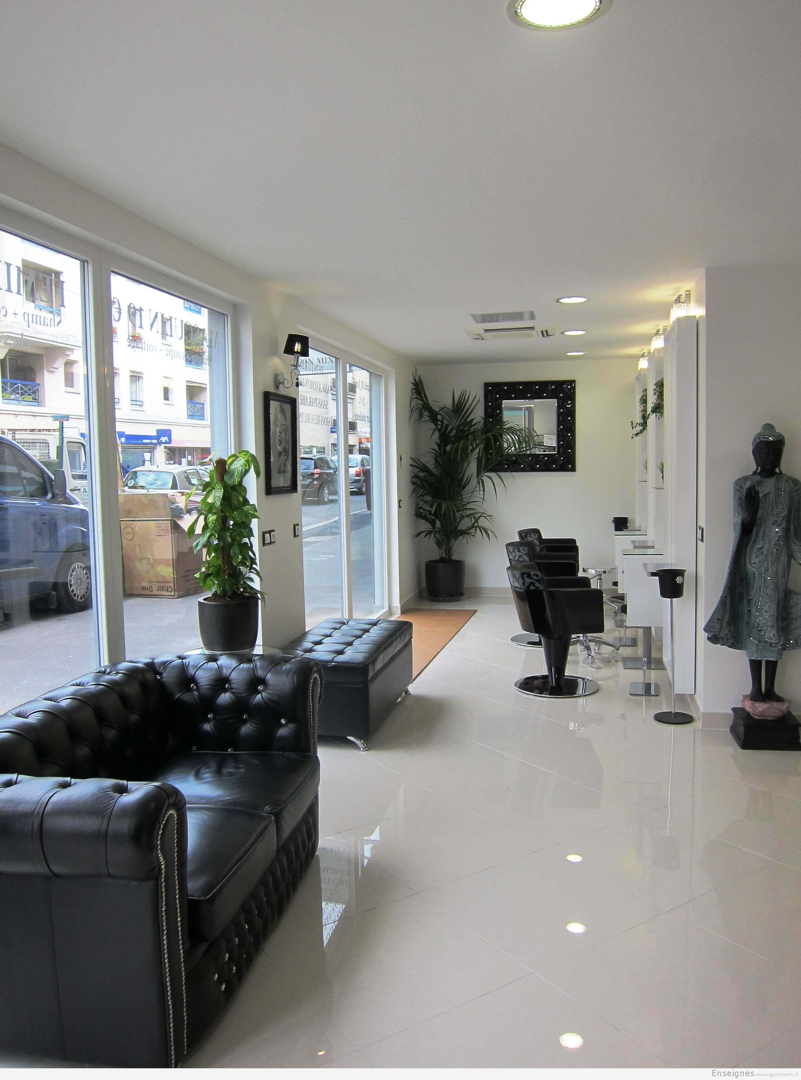 enseigne pour coiffeur chelles 77 alex visagiste et salon de coiffure. Black Bedroom Furniture Sets. Home Design Ideas
