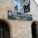 Enseigne lumineuse a lettre de la galerie d'Art SAKURA à Paris Bercy (75)