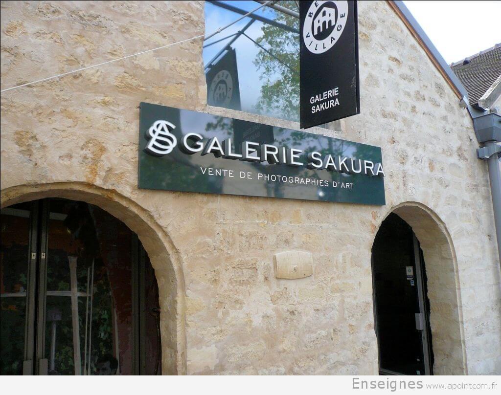 Enseigne galerie d'art Paris (12) – Art Sakura