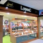 Vitrine et enseigne de la boutique Loding de st-quentin (78)