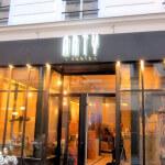 Enseigne led et façade du restaurant paris le ARTY