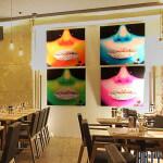 Vue de la Salle du restaurant Arty de Paris Opéra
