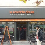 Enseigne et façade - Restaurant le soixante douze