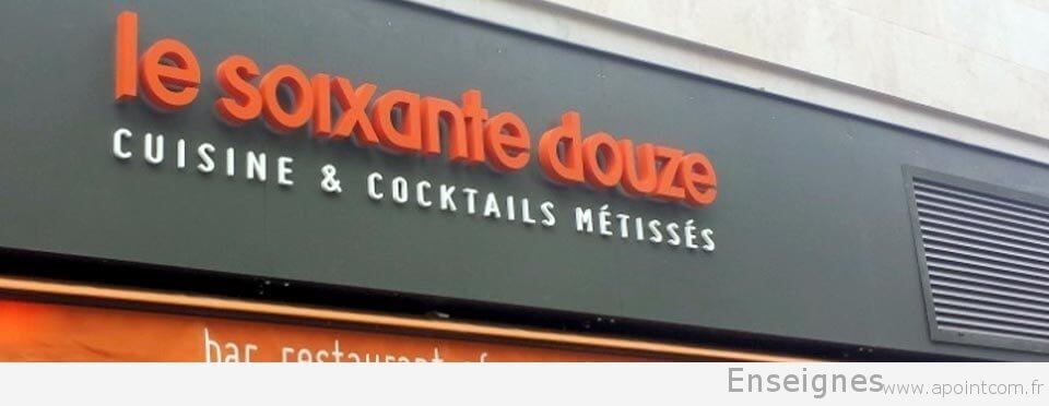 enseigne-restaurant-relief-le-72-paris