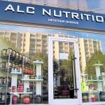 Enseigne du magasin vue en pleine journée - ALC-Nutrition musculation