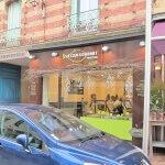 Vue facade et enseigne - Traiteur Le Club Gourmet