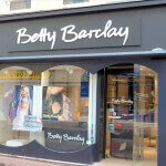 Enseigne et facade - Magasin Betty Barclay Cherbourg