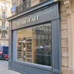 Enseigne et façade du magasin Music Hall ( Paris )