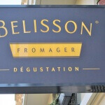 Caisson lumineux - Fromagerie Belisson