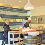 Fromages sur étalages - Fromagerie Belisson